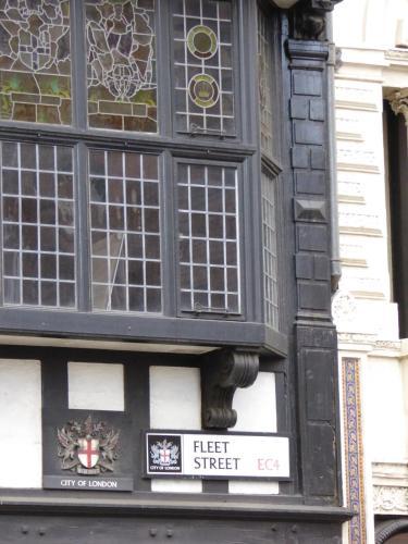 24-28 Fleet Street, City of London, England.