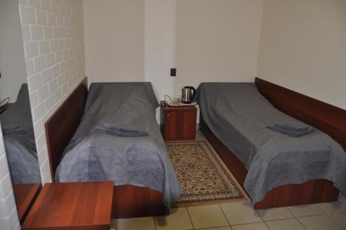 4 Комнаты Бюджетный двухместный номер с 2 отдельными кроватями