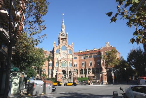 Sagrada Familia Sant Pau Park Guell impression