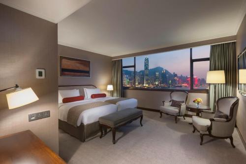 Marco Polo Hongkong Hotel Двухместный номер с кроватью размера