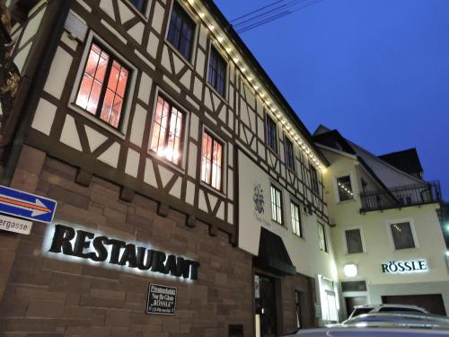 . Hotel Restaurant Rössle