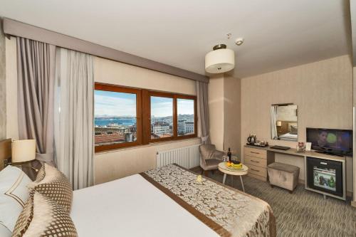 Istanbul Galata La Bella Hotel harita