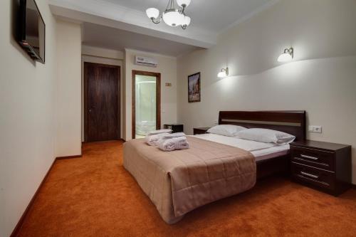 Отель Соло Адмиралтейская Стандартный двухместный номер с 1 кроватью