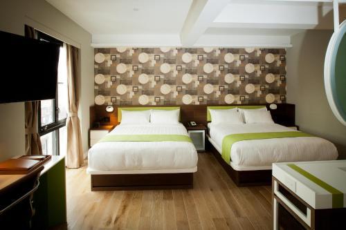 NobleDEN Hotel Номер с 2 кроватями размера «queen-size»