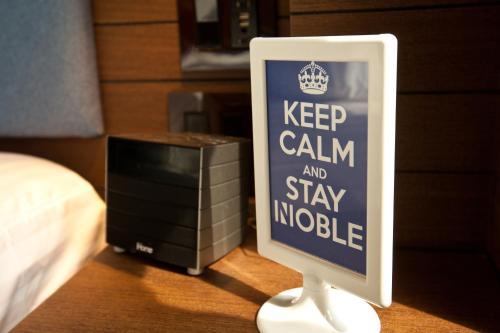 NobleDEN Hotel Стандартный двухместный номер с 1 кроватью