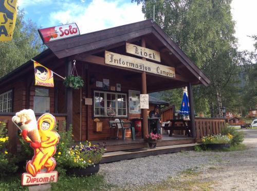 Accommodation in Nordberg