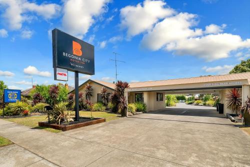 Фото отеля Begonia City Motor Inn