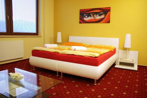 Cameră dublă deluxe cu pat suplimentar (Deluxe Double Room with Extra Bed)