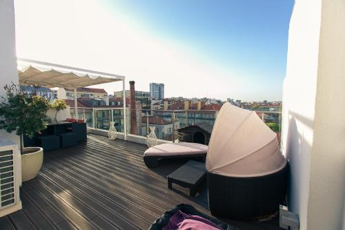 Hotel Charming Penthouse with Private Terrace 1