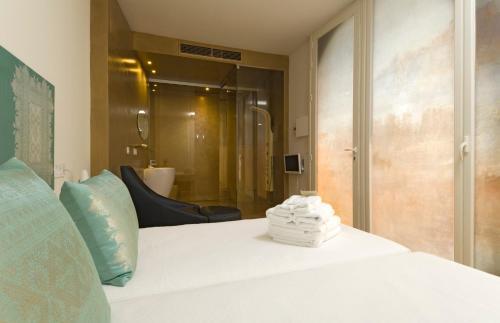 Habitación Doble Patio - 2 camas Hotel Viento10 7