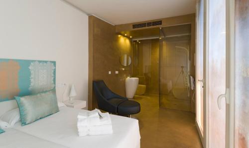 Habitación Doble Patio - 2 camas Hotel Viento10 8