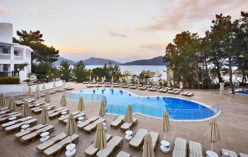 Marmaris Ideal Panorama Hotel yol tarifi