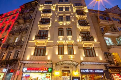 Istanbul Hotel Pera Parma ulaşım
