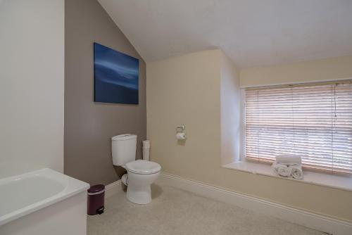 Family Room with Separate Private Bathroom