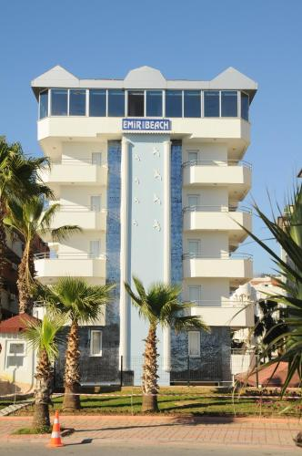 Alanya Emir Fosse Beach Hotel harita