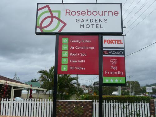 . Rosebourne Gardens Motel