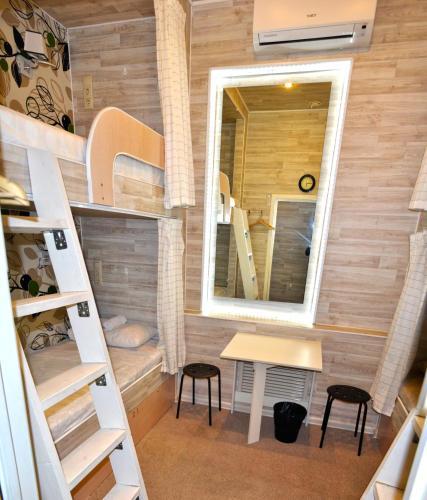 Хостел Казанское Подворье Кровать в общем четырехместном номере для женщин