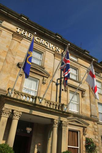 The Crown Hotel Review Harrogate Yorkshire Travel