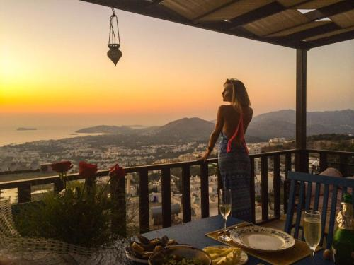 Turgutreis Jaw-Dropping View Villa map