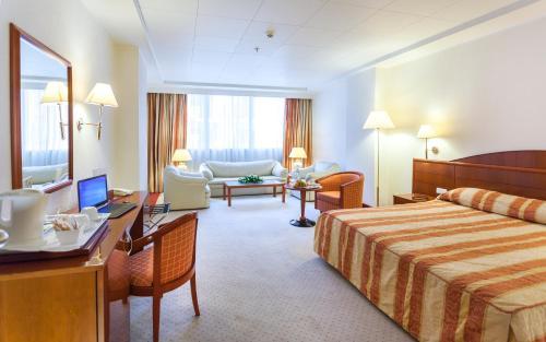 El Mouradi Hotel Africa Tunis foto della camera