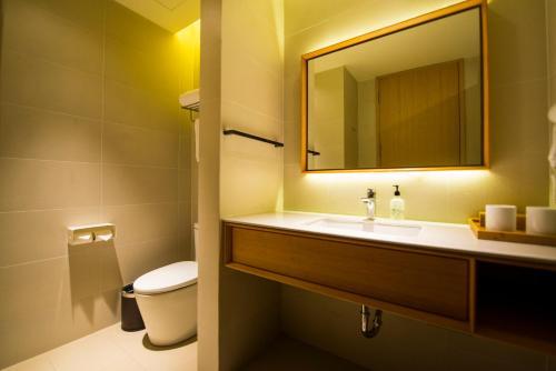 JI Hotel Shanghai Hongqiao National Exhibition and Convention Center Jidi Road Ограниченное по времени предложение - Улучшенный двухместный номер с 2 отдельными кроватями