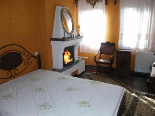 Economy Double Room with Fireplace