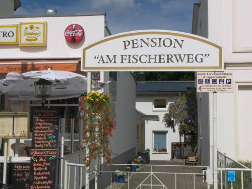 """. Pension """"Am Fischerweg"""""""