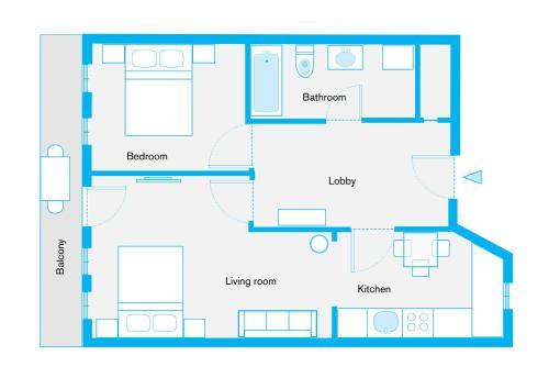 GreatStay Apartment - Danzigerstr. photo 23