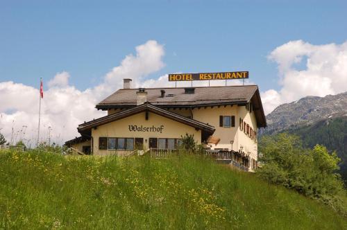 Hotel Restaurant Walserhof - Medels im Rheinwald