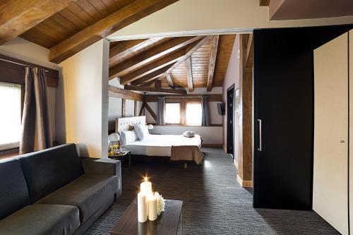 Superior Doppel- oder Zweibettzimmer - Einzelnutzung Hotel Dolarea 1