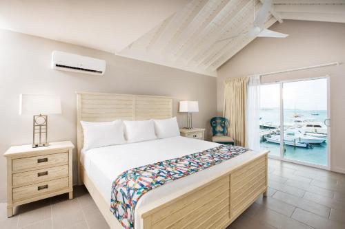 Luxury Room - 2 double beds - Sea View