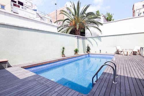 My Space Barcelona Gracia Pool Terrace photo 14