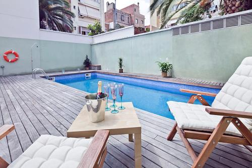 Hotel My Space Barcelona Gracia Pool Terrace