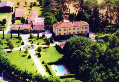 Kasteel-overnachting met je hond in Palazzo Di Bagnaia - Castel del Piano