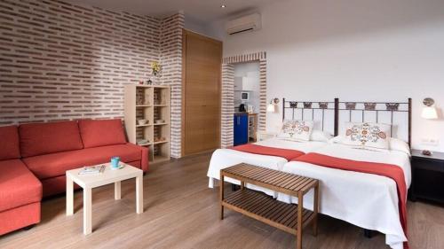 Estudio con terraza Hotel La Garapa 11
