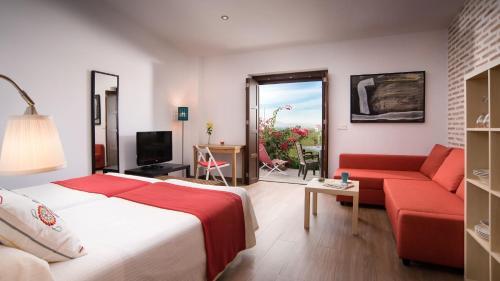 Estudio con terraza Hotel La Garapa 9