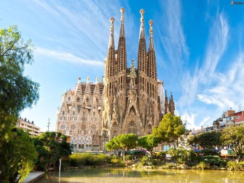 Sagrada Familia Sant Pau Park Guell photo 6
