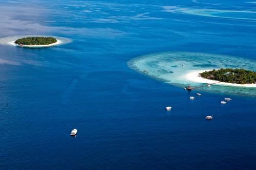 Vabbinfaru Island, North Malé Atoll, Republic of Maldives.