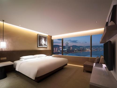 Grand Hyatt Hong Kong фотографии номера