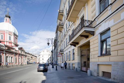 Two Steps Apartments on Pestelya Апартаменты-студио