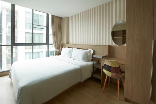 Q suites 46 impression
