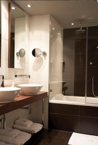 Doppel- oder Zweibettzimmer Hotel La Trufa Negra 16
