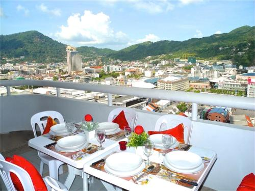 Patong Tower 2 Bedrooms Apartment City View Patong Tower 2 Bedrooms Apartment City View