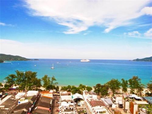Patong Tower 1-Bedroom Apartment Full Sea View Patong Tower 1-Bedroom Apartment Full Sea View