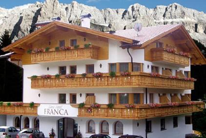 Hotel Garni Franca Wolkenstein-Selva Gardena