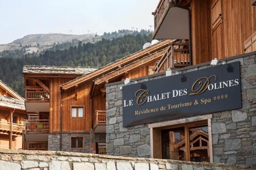 CGH Résidences & Spas Le Chalet des Dolines - Accommodation - Montgenèvre