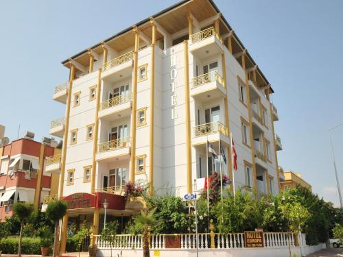 Antalya Hotel Europa odalar
