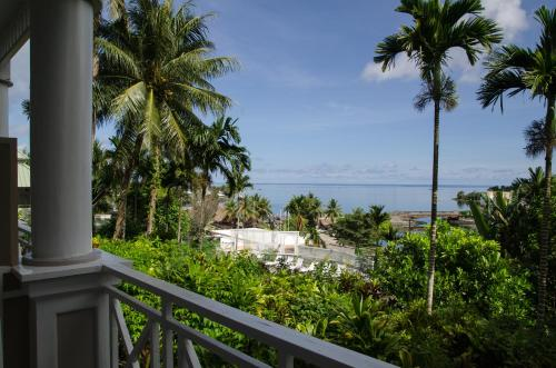 Yap Pacific Dive Resort Полулюкс с видом на океан