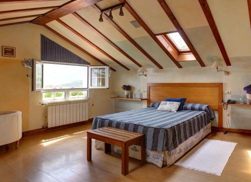 Habitación Doble Superior con bañera de hidromasaje Hotel Mirador del Sella 12