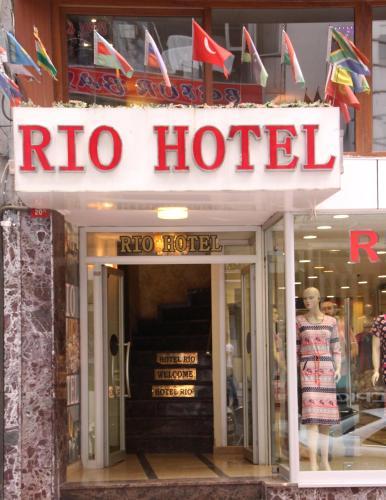 Istanbul Hotel Rio odalar